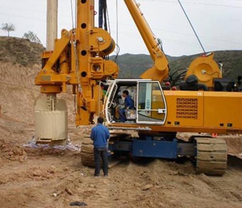 旋挖钻机自动变速箱维修:异响故障现象