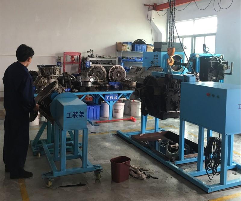 固井压井设备变速箱维修