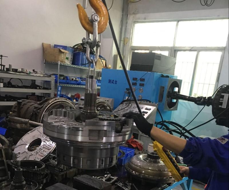 油田机械设备变速箱维修