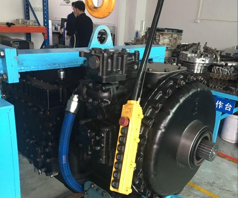 重型运输车变速箱维修