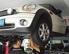 宝马MINI变速箱维修:打滑、异响