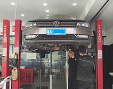 大众帕萨特自动变速箱维修:挂挡后不走车