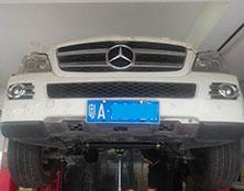 奔驰自动变速箱维修:换错变速箱油 导致升档失效