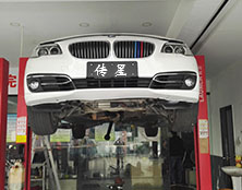 宝马530自动变速箱维修:升档延迟