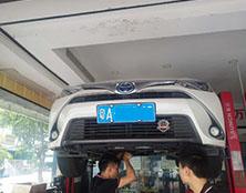 丰田雷凌自动变速箱维修:动力不足