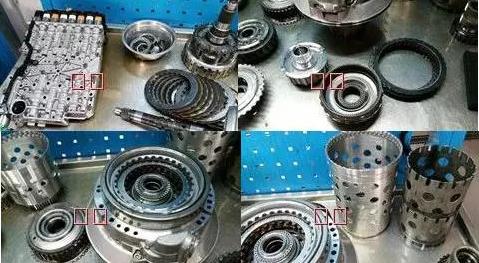 奥迪Q5自动变速箱维修:换挡延迟