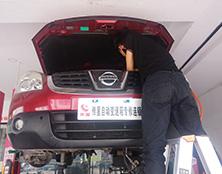 日产逍客自动变速箱维修:换挡顿挫、不走车
