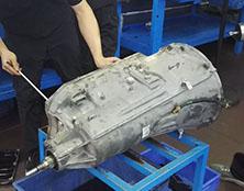 宝马X5自动变速箱维修:提速缓慢故障