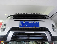 路虎极光自动变速箱维修:热车怠速不稳故障