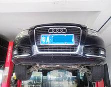 奥迪A6自动变速箱维修:起步抖动