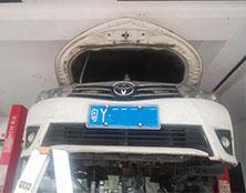 丰田卡罗拉自动变速箱维修:加速无力